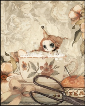 Poster The Tea Bath - 40x50