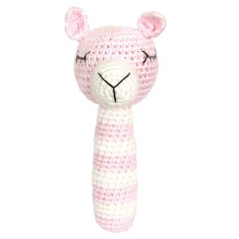Skallra - Baby pink llama