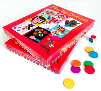 Spel - Jaga färger