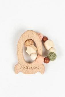 Skallra/bitring Rocket teether, Autumn