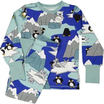 Pyjamas tvådelad Bambu Glaciär