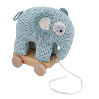 Dragdjur - Elefanten Fanto lagoon blue