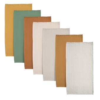 7-pack muslin filtar
