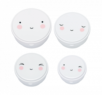 Snack box Happy Face 4-pack