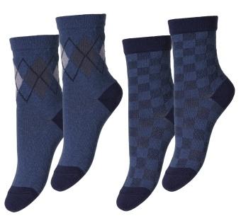 Strumpa 2-pack (blå)