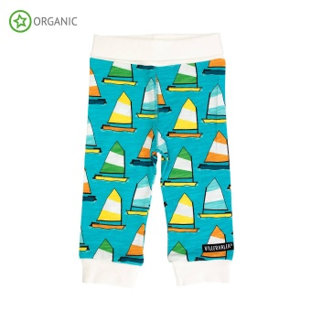 Babyleggings med mudd -  Sailboat