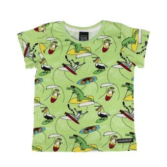 T-shirt Surfing Animals