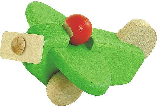 Flygplan med pilot grön