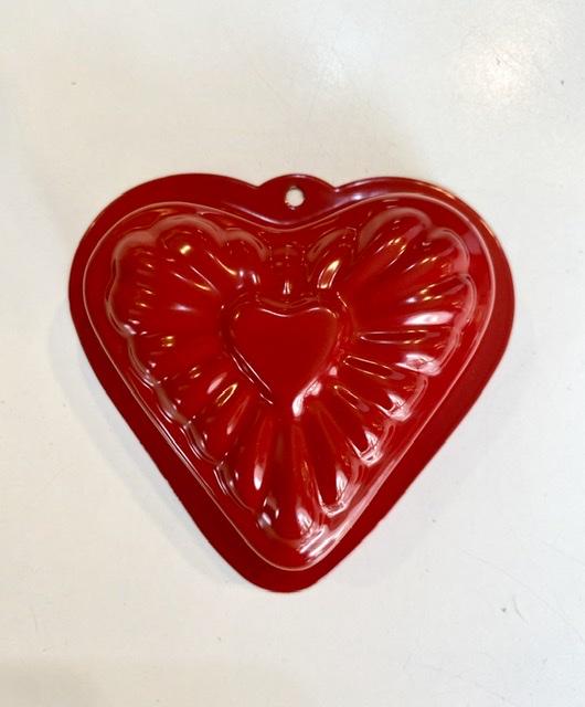 Sandform i metall - Hjärta
