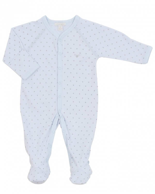 Overall, Saturday Simplicity Footie blå/silver