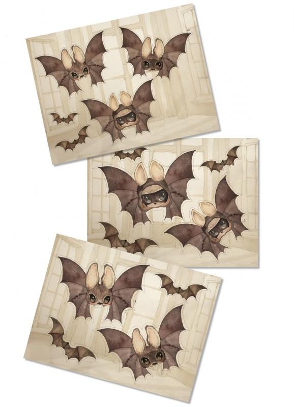 DIY - Paper friends - The Bats