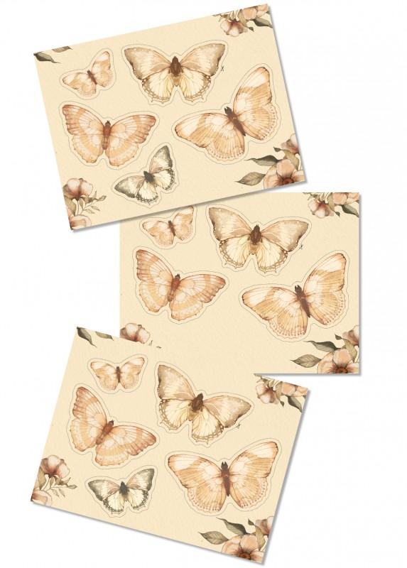DIY - Paper friends - Butterflies