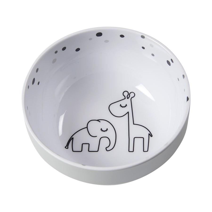 Skål - Yummi  mini bowl Dreamy dots Grey