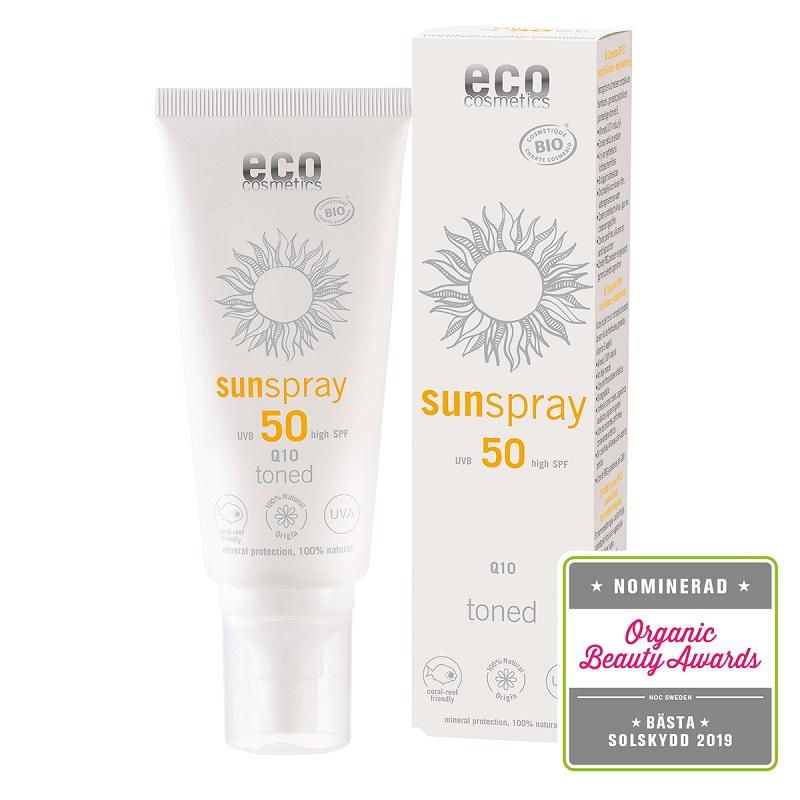 Solskydd - Solspray eko Toned SPF 50