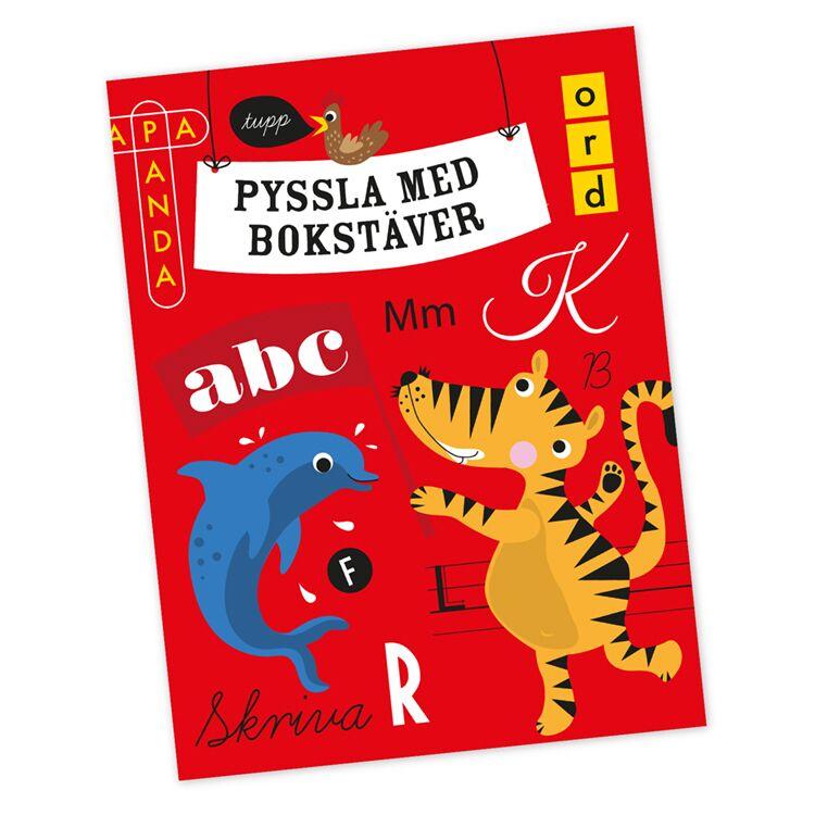 Pysselbok - Pyssla med bokstäver