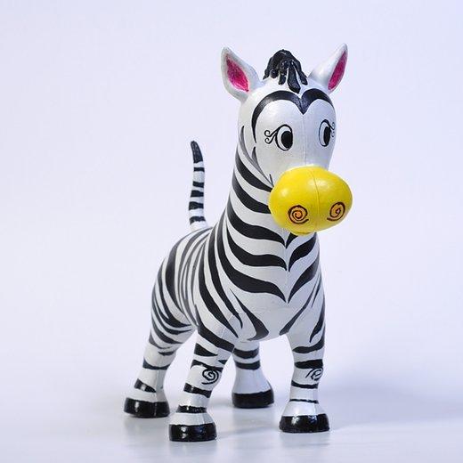 Naturgummi djur - Zippy Zebra