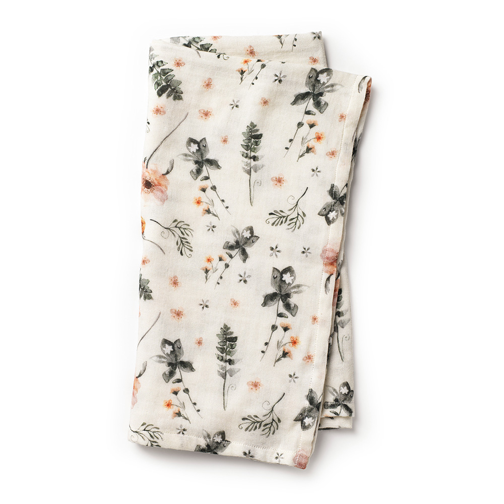 Bamboo Muslin Blanket Meadow Blossom