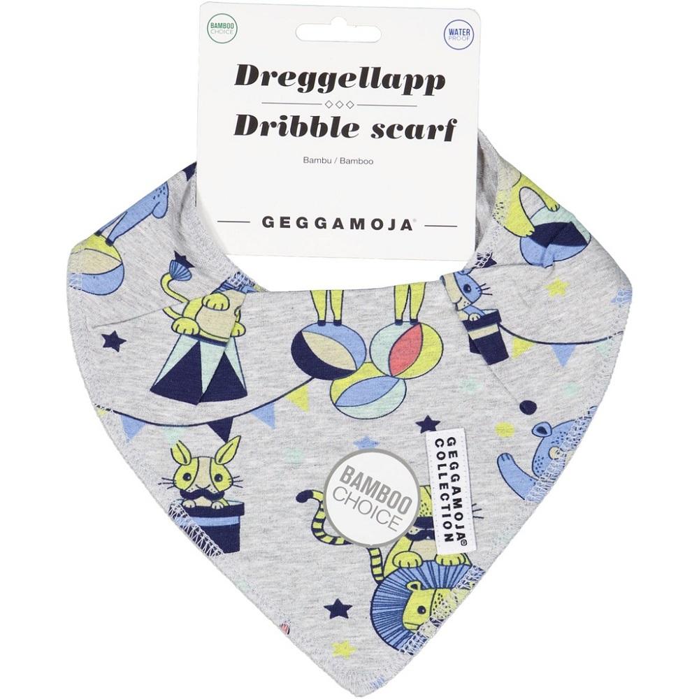 Dreggelscarf - Grey Circus waterproof, bamboo
