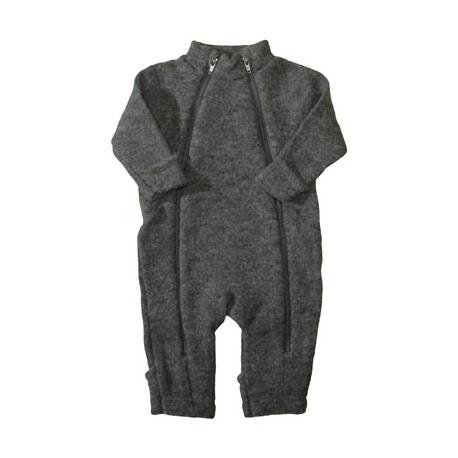 Overall/jumpsuit grå merinoull