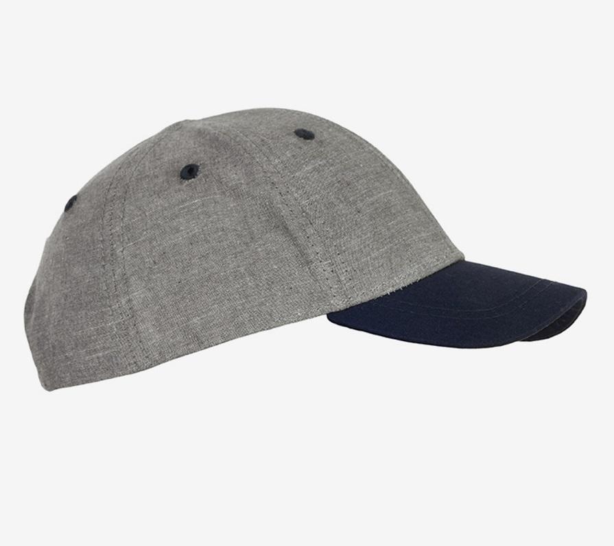 Keps - Grå/blå