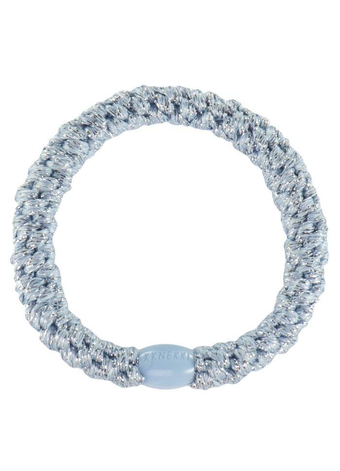 Hårsnodd - Kknekki Sea blue glitter