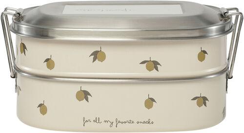 Matlåda i stål - Citron/Lemon