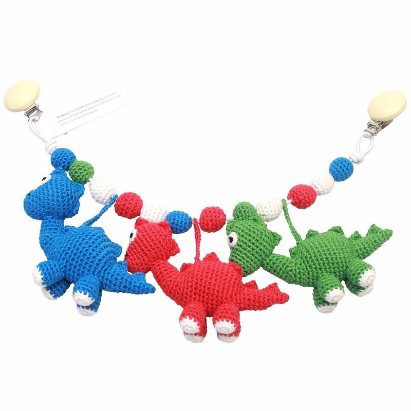 Barnvagnsmobil - Mr Dino, Mrs Dino and Sir Dino
