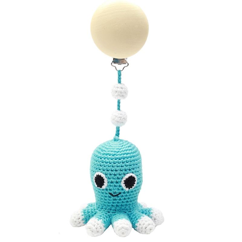 Barnvagnshänge - Octopus (Turquoise)