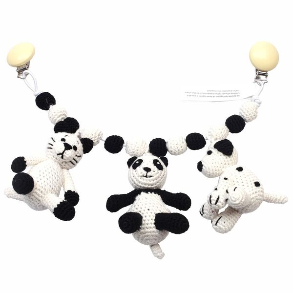 Barnvagnsmobil - Cat, Panda and dog