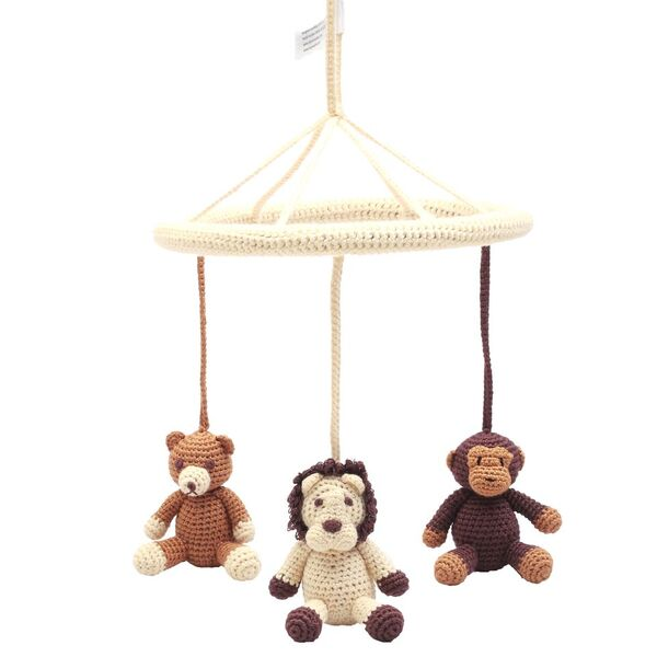 Mobil - Bear, lion and monkey