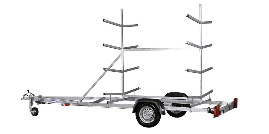 Variant 757 BL - 750kg - 660x185cm - Kanotsläp