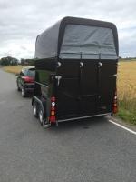 Anssems Hästvagn PTH 2000 Privaro - svart metallic