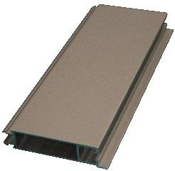 Lower wall profile Azure H/Cobalt H, 10 cm, Per meter