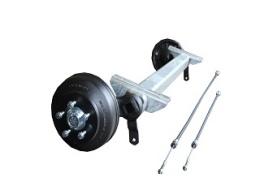 Axle CB 1805 kg, Eco, pad 1100