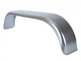 Stänkskärm, dubbla axlar, stål, vänster, 22 cm bred, THRD 22155 Zu (till Azure L-2 / Sapphire L-2)