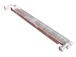 Pendulating hinge Cobalt H, 50+60 cm, Gauche
