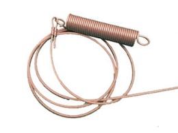Spring for stroke-limitation including steel cable Cobalt HM (335 cm)