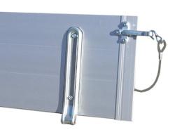 Tailwall Azure L, 130 cm, Aluminium