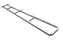 Wire rack Azure L, 250X75 cm