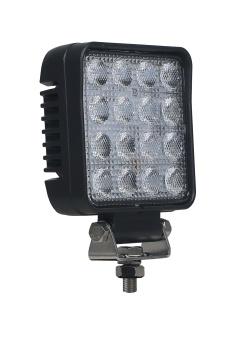 Strands Arbetslampa LED Kvadrat 25W ADR- & E-godkänd backlampa, DT-kontakt