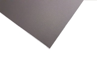 Side panel, multiplex, 250 (2490 x 324 mm), anthracite and light grey (Ral 8019 / 7001), Azure L