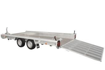 Anssems TERRAX - 2 axlar 3500 kg - 394x180 cm (lastramp 150 cm)