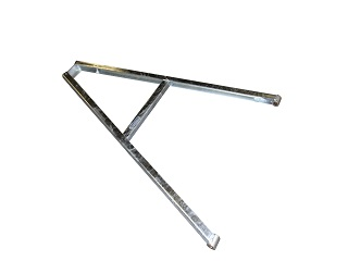 Towbar for turntable model V (zm 3,5-1) (without mechanical brake assembled)