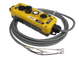 Kontrollbox för eltipp, mindre än 405cm