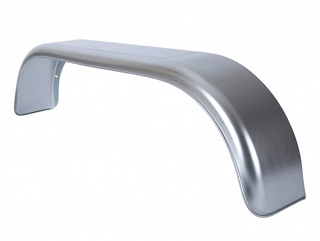 Mudguard, double axle, steel, 20 cm wide, THRD 20150 Zu (for old model Azure L-2 Chassis / Sapphire L2)