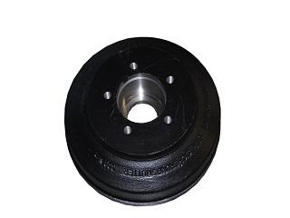 Bromstrumma 250 x 40 mm, utan kullager, för axlar 1800 kg