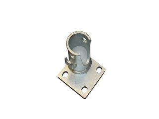 Ball support pour three-way tipper (galvanised, type 1: 17,5 mm ; right in front + rear left )