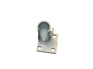 Ball support pour three-way tipper (galvanised, type 2: 19,5-15,5 mm ; left in front + rear right )