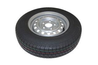 Kompletta hjul - Sommardäck 165R13C Plåt 5x112