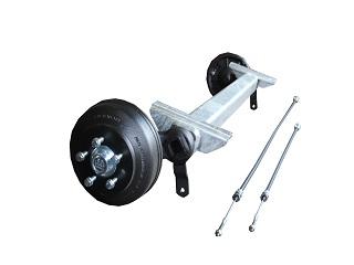 Axle CB 1805 kg, Eco, pad 1400